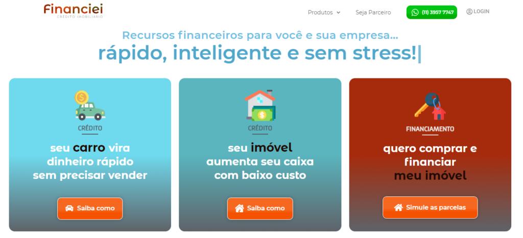 Plataforma de Financiamentos